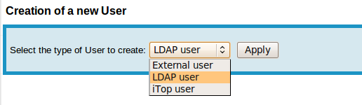 New LDAP User